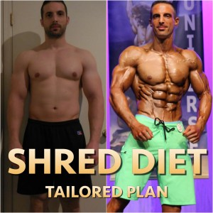 SHRED TAILORED DIET (Fat Loss)